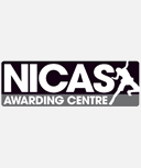 National Indoor Climbing Award Scheme logo