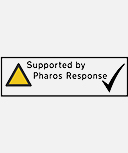 Supported by Pharos Response logo