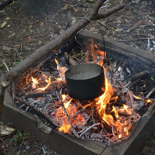 bushcraft pot