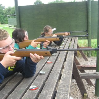 Group Air Rifle Shooting