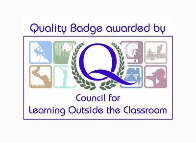 Learning Outside the Classroom Quality Badge Holder