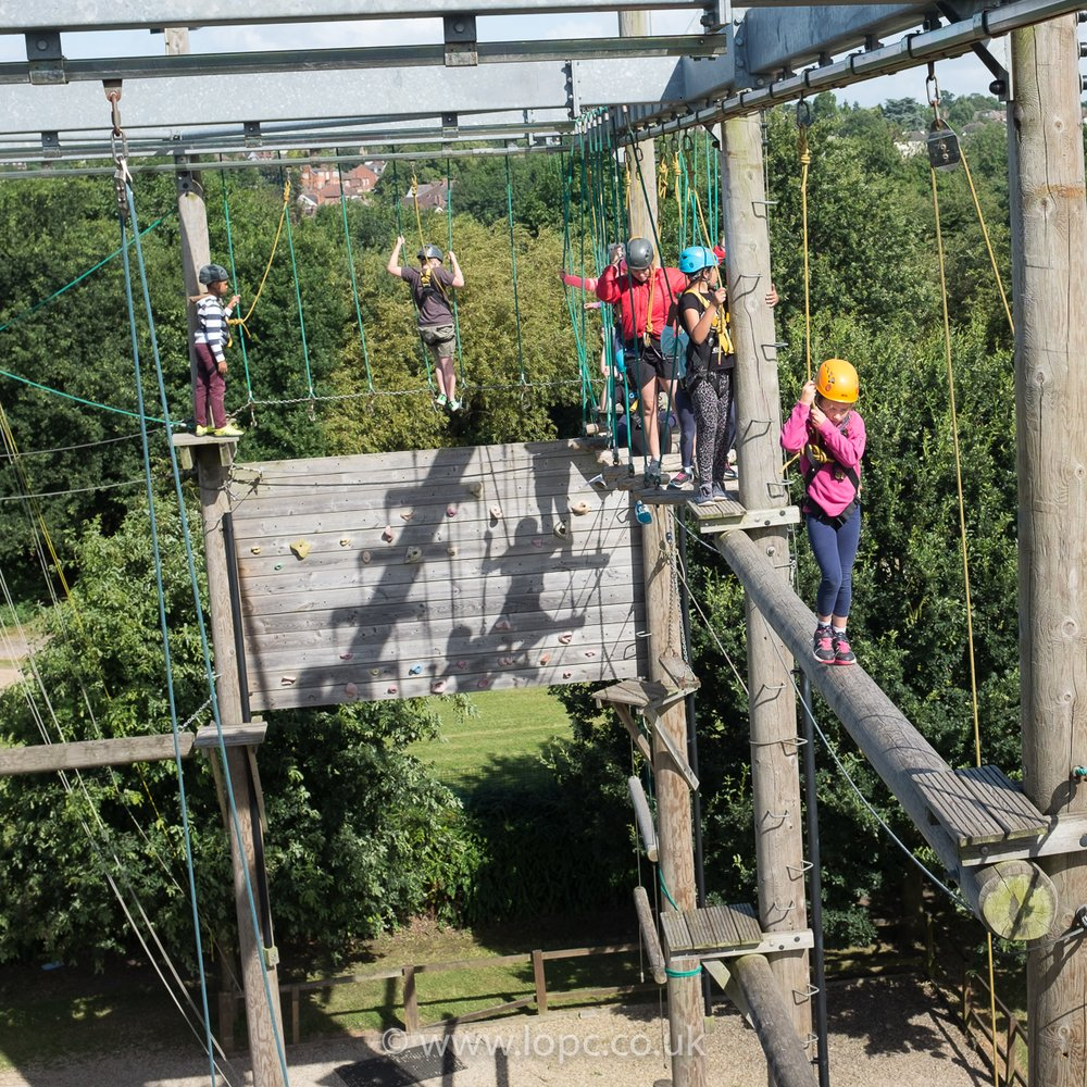 LOPC High Ropes Activity