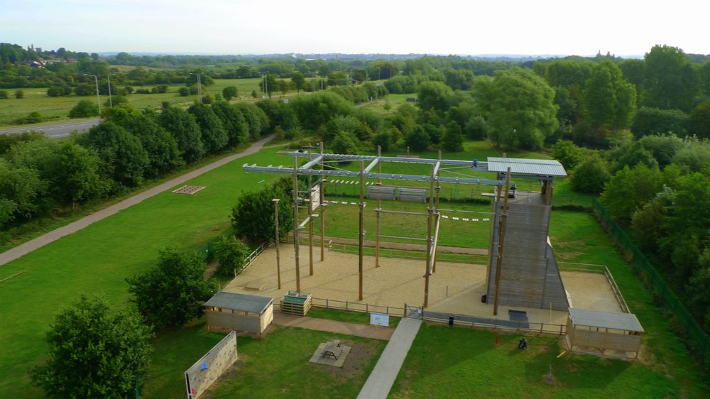 High Ropes course in Leicester
