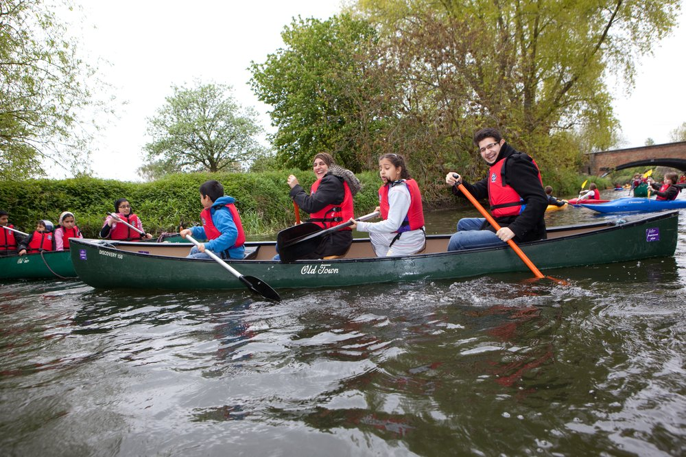 Canoeing in the East Midlands